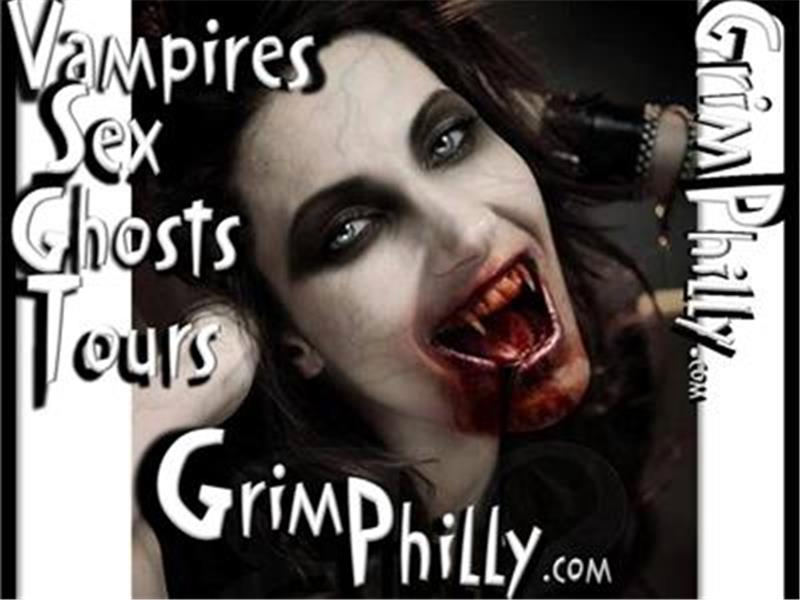Grim Philly's Vampires, Sex, Ghost Tour