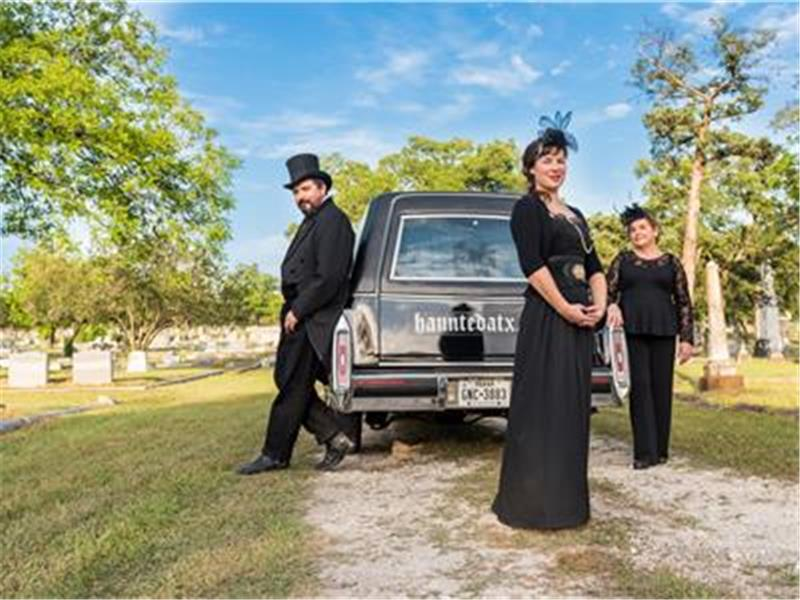 Haunted Hearse Limo Tours -