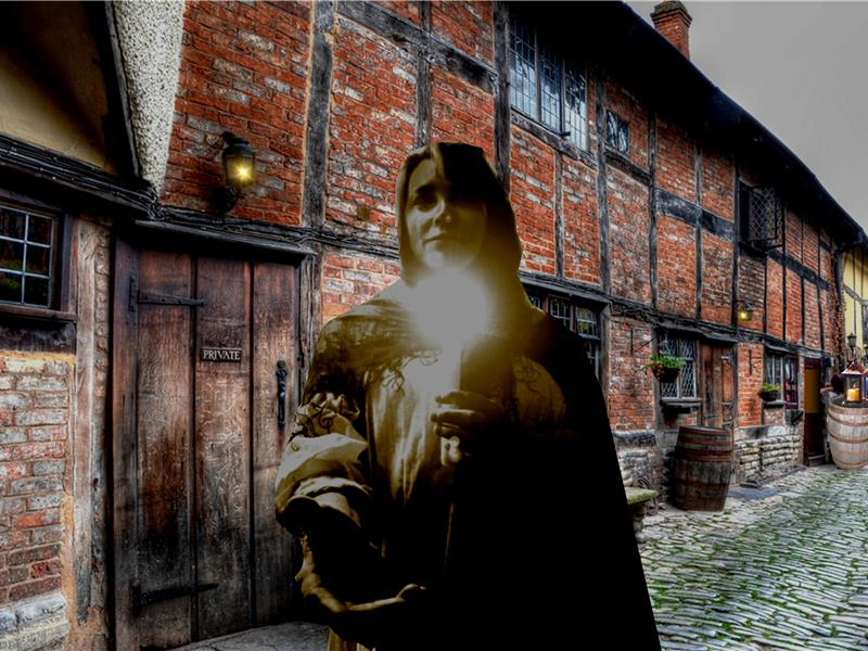 Tudor World Virtual Ghost Tour (smartphone required)