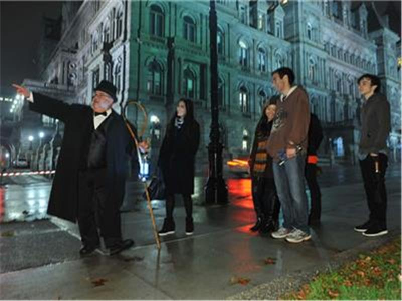 Ghosts of Albany Walking Tour