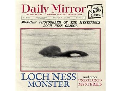 The Loch Ness Monster Front cover